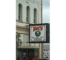 Mac's Bar. Photographic Print