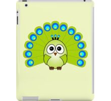 Little Cute Peacock iPad Case/Skin