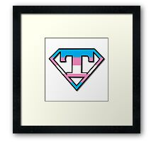 Super Trans Framed Print