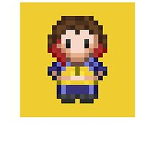 Pixel WWE Blue Pants NXT by SquishyCarrot