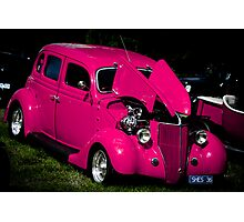 """Pretty in Pink"" - Hot Rod Photographic Print"
