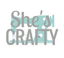 She's Crafty Beastie Boys Vintage Design Photographic Print