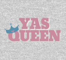 Pink Yas Queen! Kids Clothes