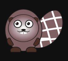 Little Cute Beaver Baby Tee