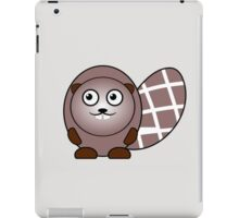 Little Cute Beaver iPad Case/Skin