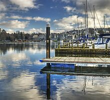 Bowness-on-Windermere..Marina Views by Jamie  Green
