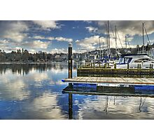 Bowness-on-Windermere..Marina Views Photographic Print