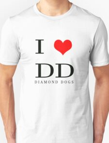 I Love DD Unisex T-Shirt