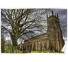 St Andrew's Church,Aysgarth Poster