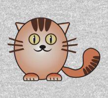 Little Cute Kitty One Piece - Short Sleeve