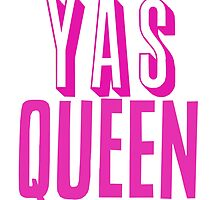 Yas Queen Hot Pink by SailorMeg