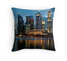 Marina Bay Throw Pillow