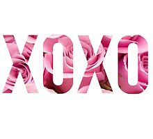 XOXO Floral Roses by SailorMeg