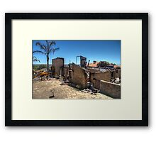 Burnt out #1 Framed Print