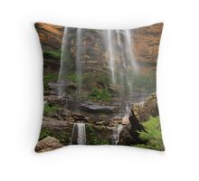 Wentworth falls, Blue Mountains Throw Pillow