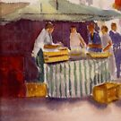 The fish market by Beatrice Cloake Pasquier