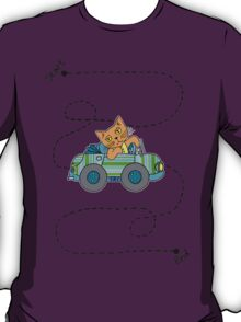 Life's a journey, baby, you gotta enjoy the ride. T-Shirt