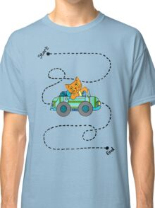 Life's a journey, baby, you gotta enjoy the ride. Classic T-Shirt