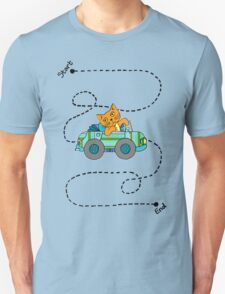 Life's a journey, baby, you gotta enjoy the ride. Unisex T-Shirt
