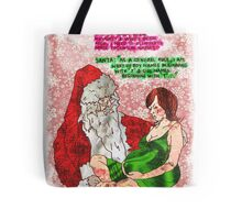 Pregnancy: Naughty and Nice Names Tote Bag