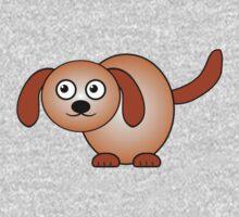 Little Cute Doggy One Piece - Short Sleeve