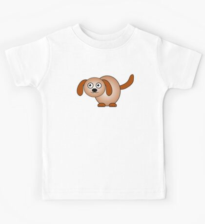 Little Cute Doggy Kids Tee