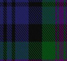 00382 Modern Baird Clan/Family Tartan  Sticker