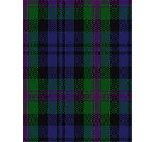 00382 Modern Baird Clan/Family Tartan  Photographic Print