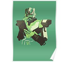 Minimus in mint Poster