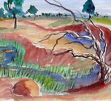 River bend by Adrian Symes