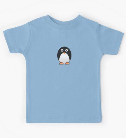 Little Cute Penguin Kids Tee