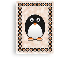 Little Cute Penguin Canvas Print