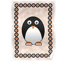 Little Cute Penguin Poster