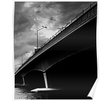 Biancas Wait - Narrows Bridge, Perth. Poster