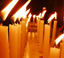 Candles Of Remembrance  by Amy Dee