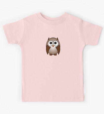 Little Cute Owl Kids Tee