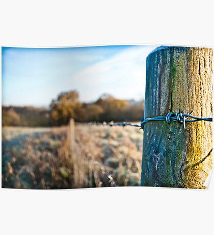 Icy Wire - Little Kingshill Poster