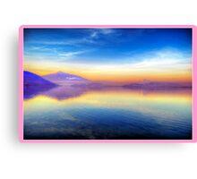 Sunrise for Stephanie (Pink) Canvas Print