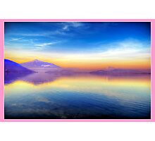 Sunrise for Stephanie (Pink) Photographic Print