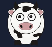 Little Cute Cow One Piece - Short Sleeve