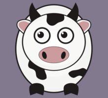 Little Cute Cow Kids Tee