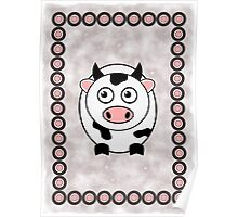Little Cute Cow Poster