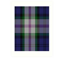 00383 Baird Dress Clan/Family Tartan  Art Print