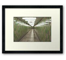 St Patrick Subway Station Framed Print