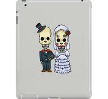 The Skeleton Wedding Couple iPad Case/Skin