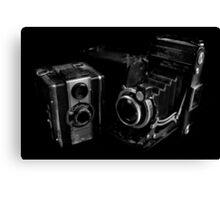 Old Cameras Canvas Print