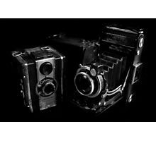 Old Cameras Photographic Print