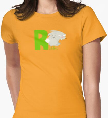 r for rabbit Womens Fitted T-Shirt