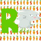 r for rabbit by alapapaju
