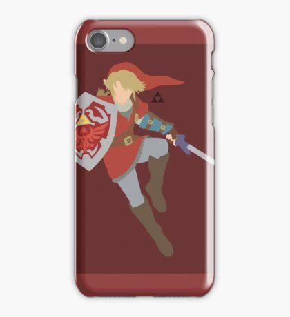 Link (Red) - Super Smash Bros. iPhone Case/Skin
